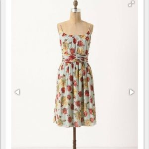 Anthropologie Anna Sui Silk Dress—Size 10 NWT!